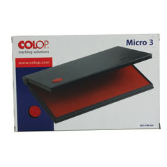 View more details about COLOP Micro 3 Stamp Pad Red MICRO3RD