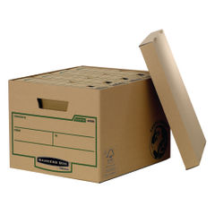 View more details about Bankers Box Brown R-Kive Storage Boxes, Pack of 10 - 4470601