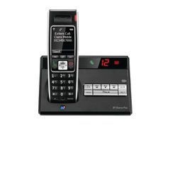 View more details about BT Diverse 7450 R DECT Cordless Phone With Answer Machine Black 060746
