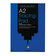 View more details about Clairefontaine Goldline A2 90gsm Tracing Pad - GPT1A2