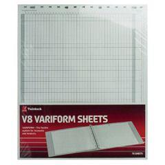View more details about Rexel Variform V8 10-Column Cash Refill (Pack of 75) 75982
