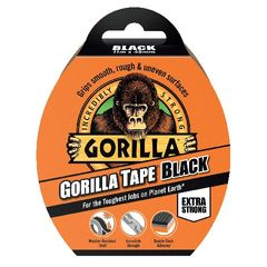View more details about Gorilla Tape 48mm x 11m Black 3044001