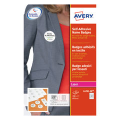 View more details about Avery Self-Adhesive 51mm Name Badges (Pack of 240) - L4781-20