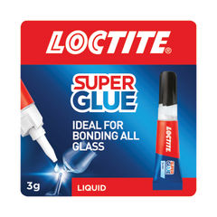 View more details about Loctite Super Glue Glass 3g (Dries in seconds to transparent finish) 1628817
