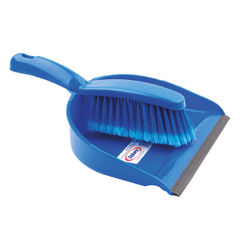 View more details about Blue Dustpan and Brush Set - 102940BU