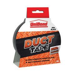 View more details about UniBond Original Black 50mm x 25m Duct Tape- 1517009