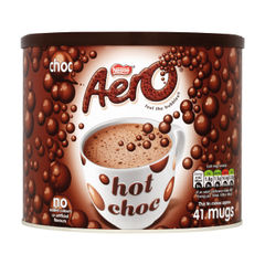 View more details about Nestle Aero 1kg Hot Drinking Chocolate Tin - 12164122