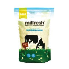 View more details about Milfresh Gold Skimmed Granulated Milk 500g A02461