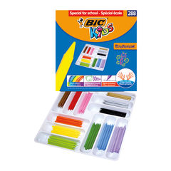 View more details about Bic Kids Plastidecor Crayons Assorted (Pack of 288) 887835