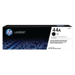 View more details about HP 44A Original Laserjet Cartridge Black (Capacity 1000 pages) CF244A