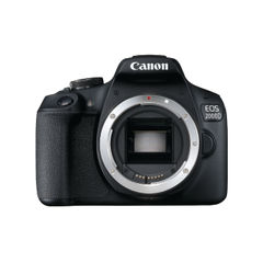 View more details about Canon EOS 2000D Digital SLR Camera Body 2728C004