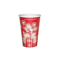 View more details about Paper Vending Cup 9oz 25cl Swirl Design (Pack of 1000) HHPAVC09A