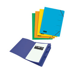 View more details about Eastlight Foolscap Assorted Organiser Files (Pack of 5) – EA48121