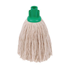 View more details about 2Work Twine Rough Socket Mop 12oz Green (Pack of 10) 101851G