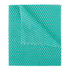 View more details about 2Work Economy Cloth 420x350mm Green (Pack of 50) 104420GREEN