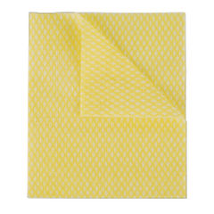 View more details about 2Work Economy Cloth 420x350mm Yellow (Pack of 50) 104420YELLOW
