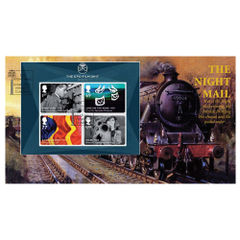 View more details about Great British Film Miniature Sheet First Day Cover - BC507M