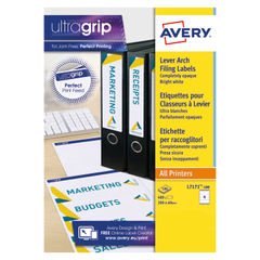 View more details about Avery Lever Arch Filing Laser Labels 200x60mm (Pack of 400) L7171-100