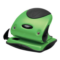 View more details about Rexel Choices P225 Green 2 Hole Punch - 2115694