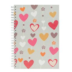 View more details about Go Stationery Heart Strings A5 Notebook – 5NC120