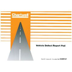 View more details about Exacompta Chartwell Vehicle Defect Report Pad CVDR1