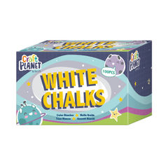 View more details about Study Time Chalk White (Pack of 100) EDU211