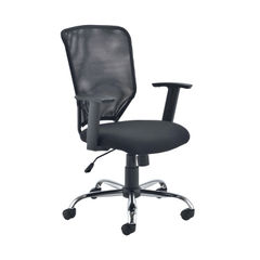 View more details about Jemini Black Low Back Operator Mesh Office Chair