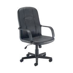 View more details about Jemini Jack 2 Black PU Executive Office Chair