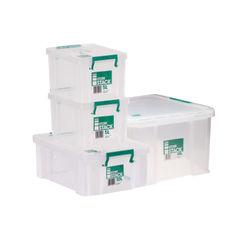 View more details about Storestack Box Bundle 2x5L 10L 48L (Pack of 4) 48LBUNDLE