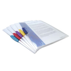 View more details about Rapesco Pivot Clip Files A4 Assorted (Pack of 5) 0786