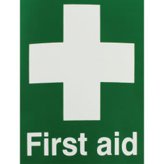 View more details about Safety Sign First Aid 150x110mm Self-Adhesive EO4X/S
