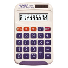 View more details about Aurora HC133 Pocket Calculator - HC133