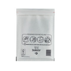 View more details about Mail Lite D/1 180 x 260mm Bubble Lined Postal Bags, Pack of 100 - MLW D/1