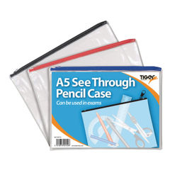 View more details about See Through Pencil Case 245 x 160mm (Pack of 12) 302152