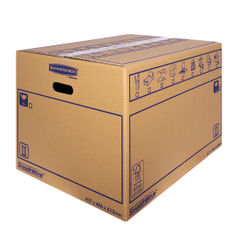 View more details about Bankers Box SmoothMove 460 x 410 x 610mm Brown Standard Moving Boxes, Pack of 10 - 6207501