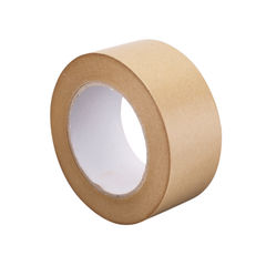 View more details about GoSecure 50mm x 6m Kraft Paper Tape, Pack of 6 – RY10724