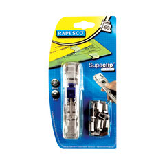 View more details about Rapesco Supaclip 40 Dispenser Stainless Steel RC4025SS