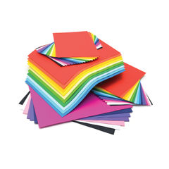 View more details about A3/A4 Assorted Card Stack Combo 125gsm (Pack of 375) D25140