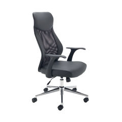 View more details about Jemini Tyne Black High Back Mesh Operators Office Chair