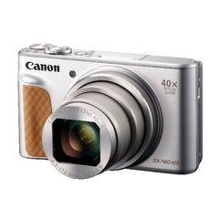 View more details about Canon Powershot SX740 Silver HS Camera 2956C011