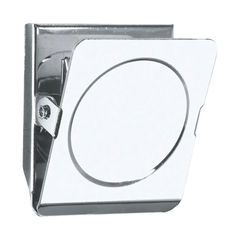View more details about Staples Magnetic Clips Square 45mm 20 Sheet Capacity Chrome Plated Steel Silver 8850876