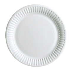 View more details about Staples Paper Plate Disposable 9 Inch White (Pack of 50) 8851511