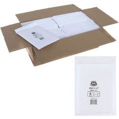 View more details about Jiffy Airkraft Bag Size 1 170x245mm White JL-1 (Pack of 10) 04890