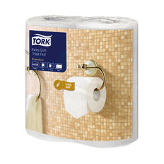 View more details about Tork White 2-Ply Extra Soft Toilet Rolls, Pack of 40 - 120240