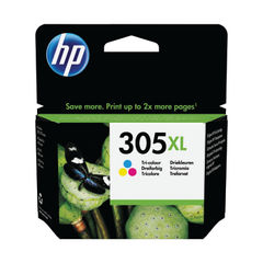View more details about HP 305XL High Yield Tri Colour Ink Cartridge 3YM63AE