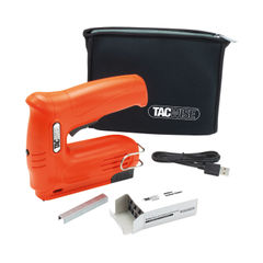 View more details about Tacwise Hobby 53-13EL Cordless Staple/Nail Gun w/Bag and Staples 1564