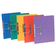 View more details about Exacompta Europa Spiral Files A4 Assorted (Pack of 25) 3000