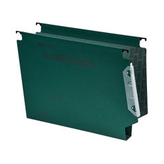 View more details about Rexel Crystalfile Classic 30mm Lateral File Green (Pack of 25) 3000109