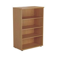 View more details about Jemini 1200 x 450mm Nova Oak Wooden Bookcase