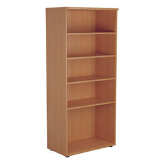 View more details about Jemini 1800 x 450mm Beech Wooden Bookcase